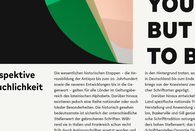 Type Mates Simulated Fonts In Use Geometric Sans Gratimo Grotesk4 Layout