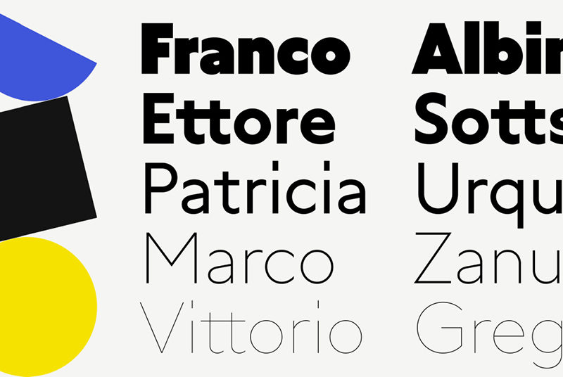 Type Mates Simulated Fonts In Use Geometric Sans Grato Classic6