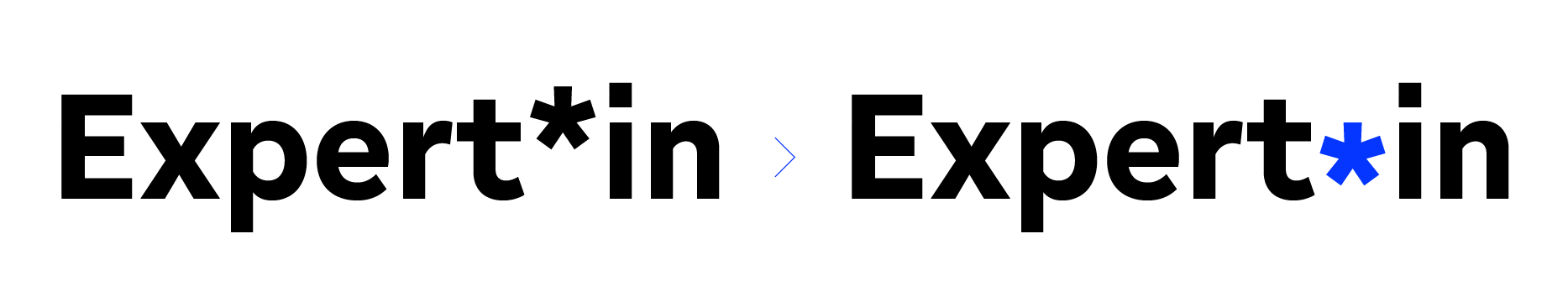 Type Mates Gratimo Grotesk Open Type Features Calt Gender Frendly